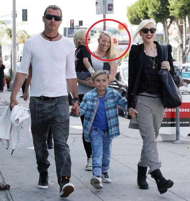 NO JUST JARED USAGEGwen Stefani, Gavin Rossdale and Nanny Mindy Mann who was having a three-year relationship with Gavin Rossdale - File PhotosPictured: Gwen Stefani and husband Gavin RossdaleRef: SPL1176465 131115 Picture by: S