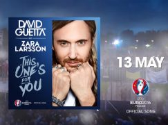 David Guetta ft. Zara Larsson: «This one's for you» – Έρχεται το theme song του EURO 2016 (Teaser)
