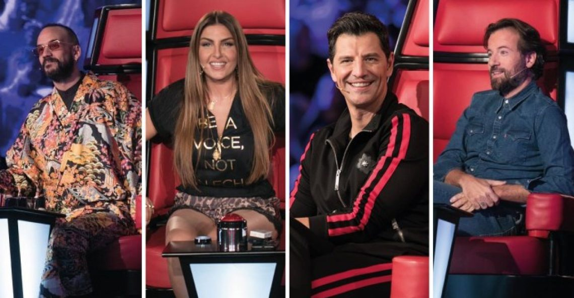 «The Voice»: Δείτε όσα έγιναν στο 8ο Blind Audition