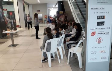 Tο The Mall of Engomi μαθαίνει στα παιδιά τη σημασία της σωστής διατροφής